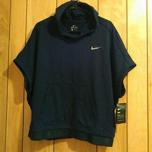 Nike hooded training top